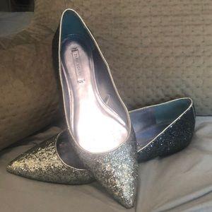 Zara glittery flats